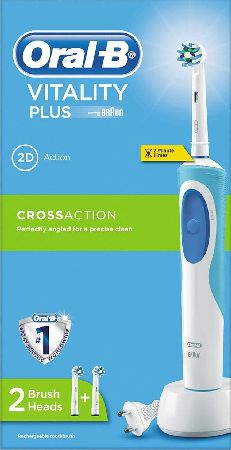 Oral B, 2102[^]0107694 Oral-B Power Vitality Plus Cross Action