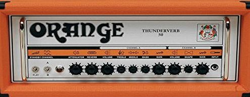 Orange Amplifiers Orange Thunderverb 50-Watt Guitar Amp Head