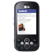 orange LG KS360 Black
