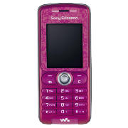 Orange sony ericsson w200i mobile phone pink and also read our