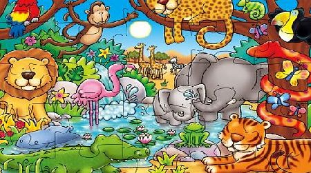 Orchard Toys Whos In The Jungle? Puzzle