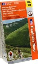 Ordnance Survey, 1296[^]229636 Explorer Brecon Beacons East Map