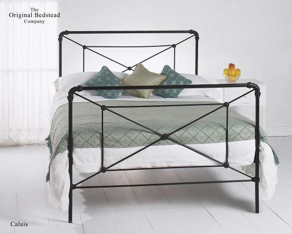 Original Bedsteads Calais Cast Iron Bed Frame Double 135cm