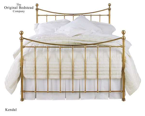 Kendal Brass Bed Double 135cm