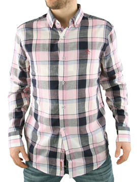 Original Penguin Lilac Check Shirt product image
