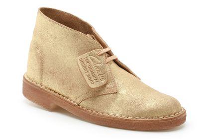 Originals Desert Boot Gold Suede