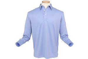 Quick Dry Long-Sleeve Polo Shirt