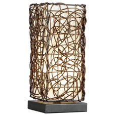 Gracie Rattan Table Lamp