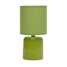 Mini Dome Table Lamp Green