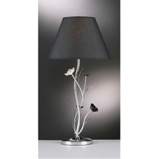 Orla Complete Table Lamp Black