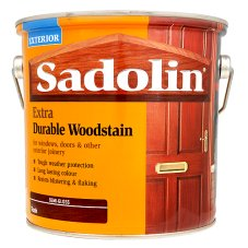 Sadolin Extra Durable Woodstain Semi-Gloss Teak