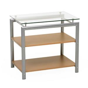 3 tier glass shelf. Black Bedroom Furniture Sets. Home Design Ideas