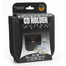Texet CD Holder Black YD-138