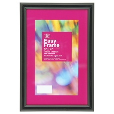 Wilko Easy Frame Black 6inx4in/15cmx10cm
