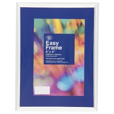 Wilko Easy Frame Silver 8inx6in