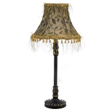 Wilko Mayfield Table Lamp Complete with Beaded