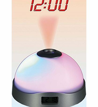 Out of the Blue Projection Alarm Clock with 3 Interchanging Colours - A great gift - Great Novelty Alarm Clock Christmas or Birthday Gift / Present product image