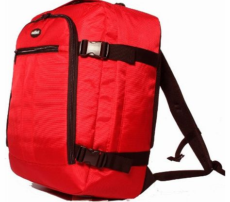 High Quality Cabin Approved Backpack Cabin Flight Bag (Red)