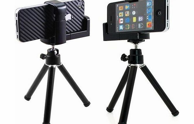 outdoortips  Portable Tripod Stand Holder For Mobile iPhone