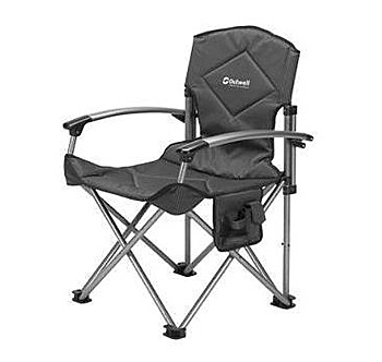 Camper Chair Deluxe Grey