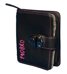 Zipped expandable coin section and fold out card section   - CLICK FOR MORE INFORMATION