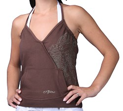 Oxbow Raban Vest Top Brown