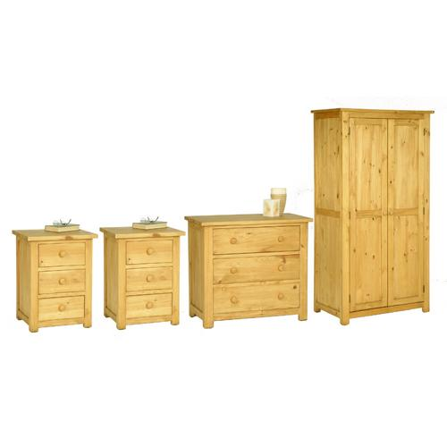 assembled solid pine range oxbury pine bedroom furniture set