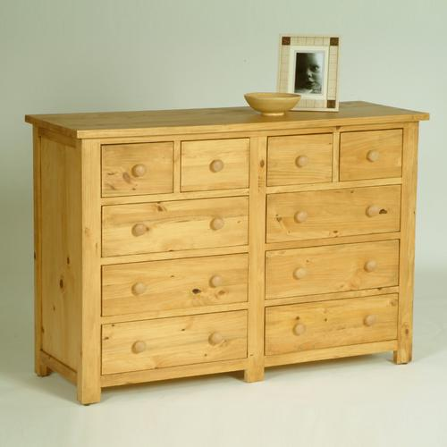 Oxbury Pre Assembled Solid Pine Range Oxbury Pine Chest Multi Drawer Review Compare Prices
