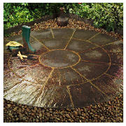 Circle Patio Kit Cornish Slate