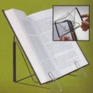 Oxyvita Ltd READERMATE FOLD N STOW ADJUSTABLE BOOK HOLDER FOR HANDS FREE READING. A perfect cookbook holder! product image