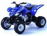 Ozbozz Die-cast Model Yamaha Raptor Quad Bike (1:18 scale in Blue)