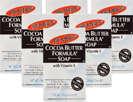 Palmer`s, 2102[^]0099475 Palmers Cocoa Butter Formula Soap 100g - 6 Pack
