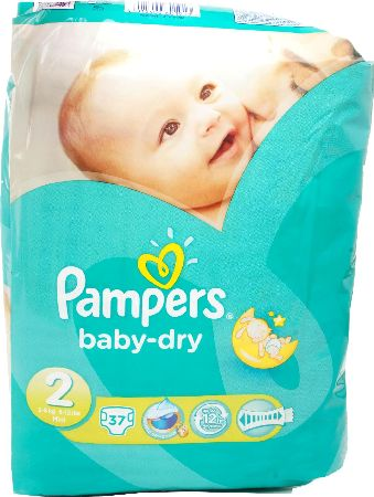 Pampers, 2102[^]0098394 Baby Dry Mini Carry Pack