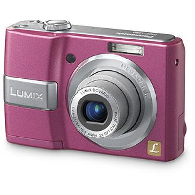 Pink Lumix Camera