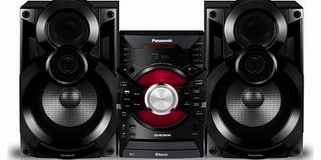 SC-AKX38EB-K 550W Mini Hi-Fi CD System with Wireless Audio Streaming (New for 2014)