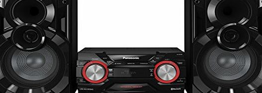 Panasonic SC-AKX400EBK 600 W Speaker System with Wireless Audio Streaming and 2 GB Internal Memory