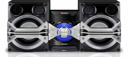 SC-AKX58EB-K 1500W Mini Hi-Fi CD System with Wireless Audio Streaming