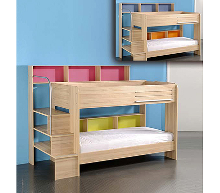 parisot bunk bed. Black Bedroom Furniture Sets. Home Design Ideas