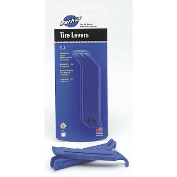 Park Tools TL1C Tyre Levers: Packaged in sets of three, the Park Tool Tire Levers are made of glass- - CLICK FOR MORE INFORMATION