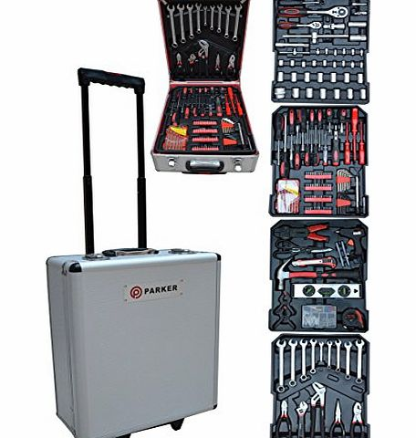 Parker 251 PCS TOOL KIT / SOCKET SET / SCREW DRIVERS + MUCH MORE product image