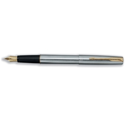 Moulded ABS barrelSoft touch grip23k gold-plated nib14k gold Dimonite clip and trim - CLICK FOR MORE INFORMATION