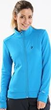 Peak Performance, 1297[^]249431 Womens Sizzler Zip Midlayer - Mosaic Blue