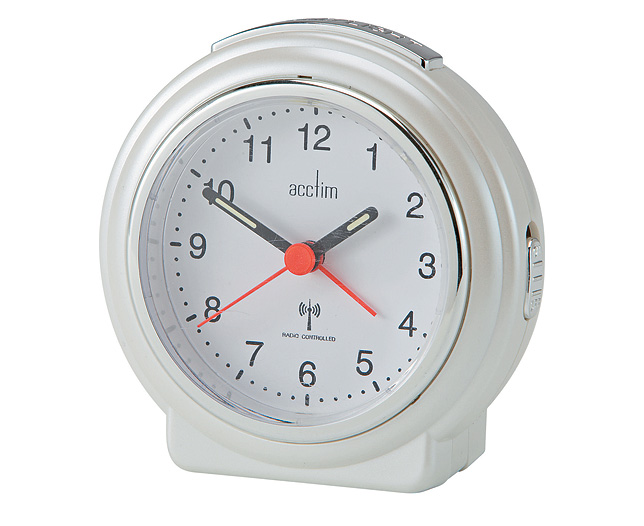 Pegasus R/C Analogue Alarm Clock