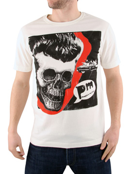Peoples Market White Skull Face T-Shirt product image