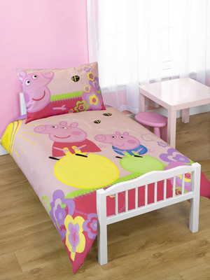 Pig Adorable Junior Duvet Cover Set