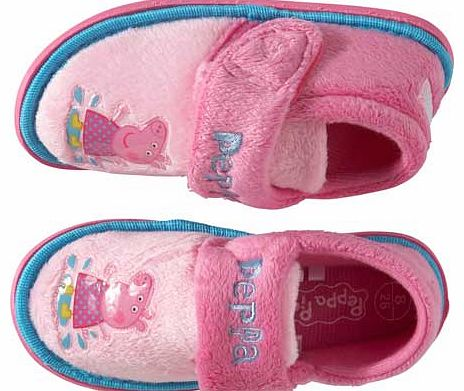 Girls Pink Slippers - Size 10