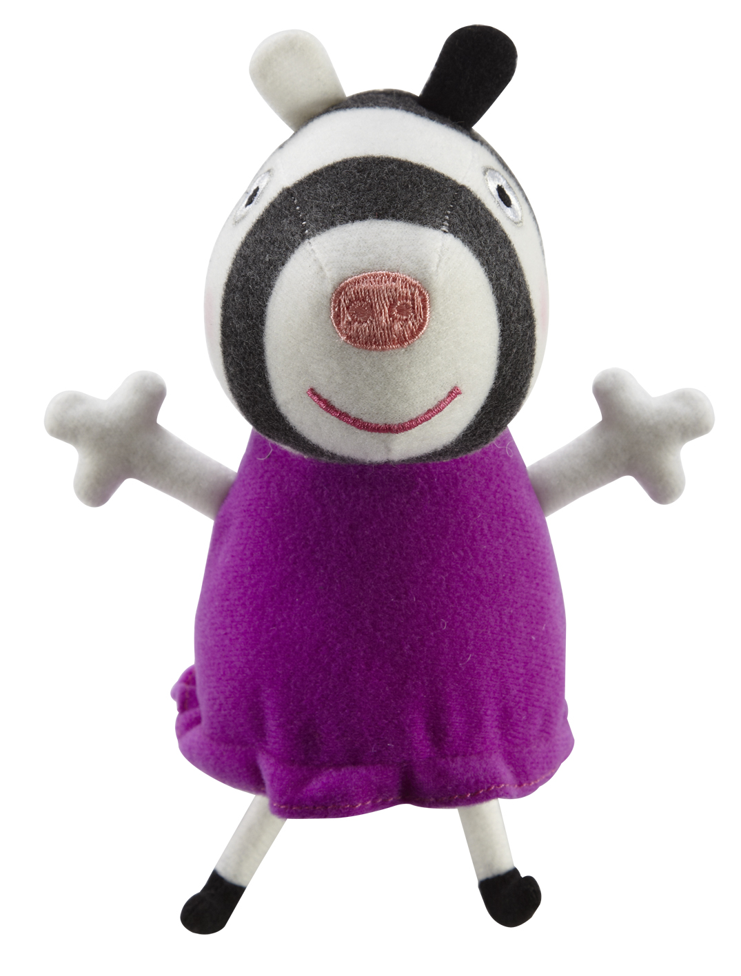 Peppa Plush Collectable Zoe Zebra Click For More