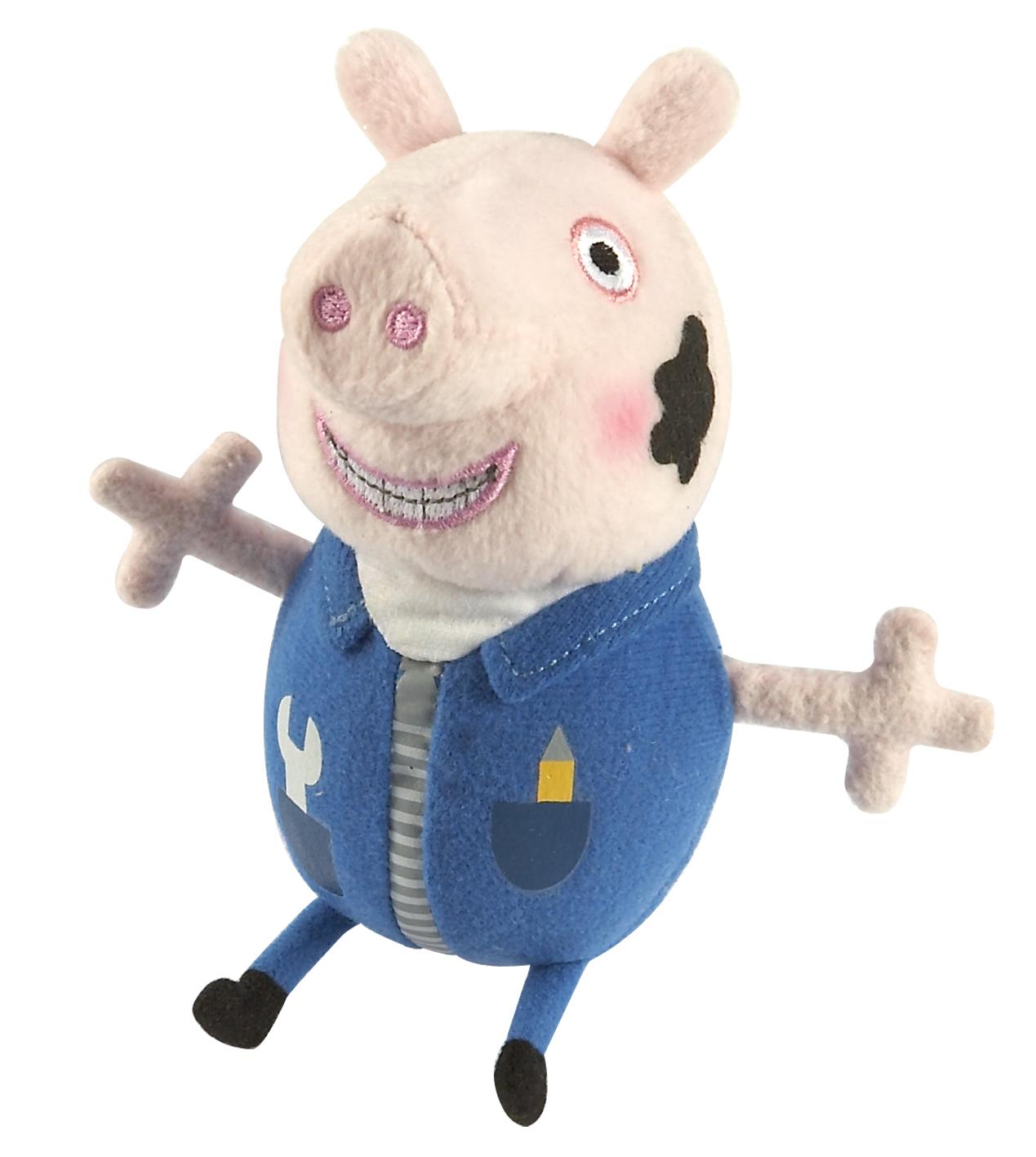 мягкая игрушка эмили с мышкой свинка пеппа