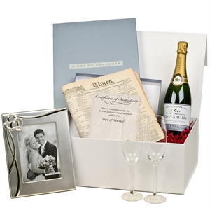 Wedding Gift List Comparison : Personalised 25th Wedding Anniversary Gift Box