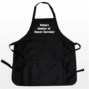 Personalised Aprons - Black product image